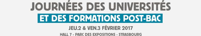 Journées des Universités Strasbourg 2017 - ISTA