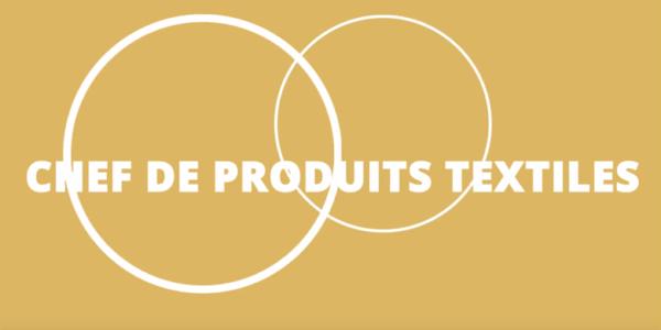 Le métier de Chef de produit Textile en vidéo!