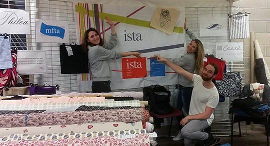 Stand des étudiants ISTA lors du festival Text'Ill 2017 à Mulhouse