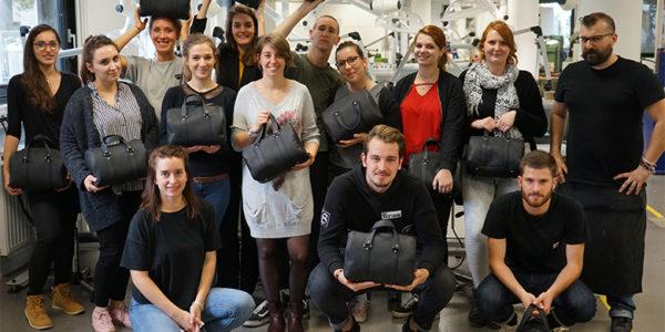 Spécialité cuir: conception et réalisation d'un article de maroquinerie au Centre Technique du Cuir à Lyon