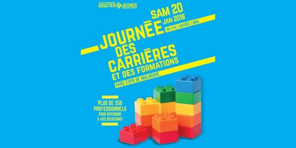 Samedi 20/01: Journées des Carrières et des Formations 2018 à Mulhouse