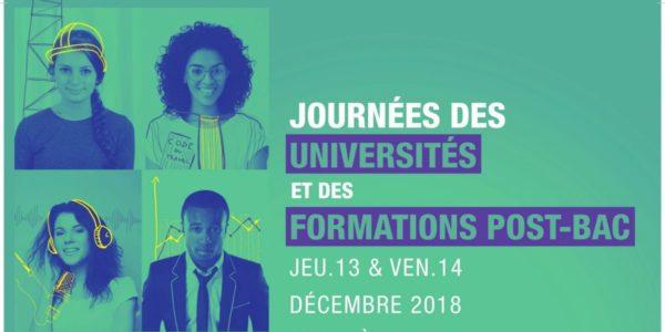 Rencontrez-nous lors des Journées des Universités à Strasbourg le 31 janvier & 1er février!