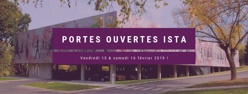 Portes Ouvertes ISTA : 15 & 16 février 2019 - orientation métier textile mode