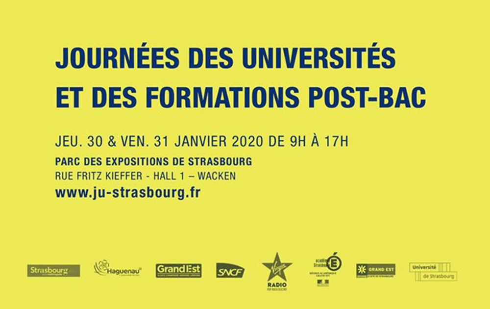 Journées des Universités Strasbourg